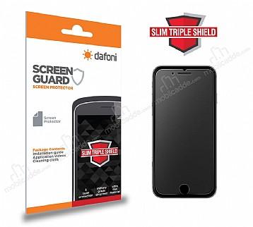 Dafoni iPhone 7 Plus / 8 Plus Slim Triple Shield Mat Ekran Koruyucu