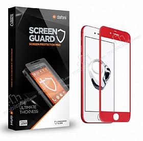 Dafoni iPhone 7 Plus /8 Plus Curve Premium Kırmızı Full Cam Ekran Koruyucu