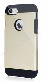 Dafoni iPhone 7 Slim Power Ultra Koruma Gold Kılıf