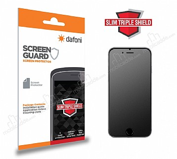 Dafoni iPhone 7 / 8 Slim Triple Shield Mat Ekran Koruyucu