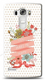 LG G4 Beat You Make Me Happy Kılıf