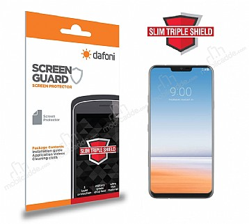 Dafoni LG G7 ThinQ Slim Triple Shield Ekran Koruyucu