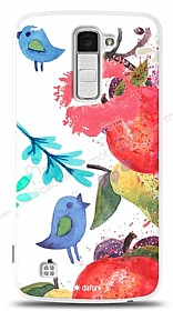 Dafoni LG K10 Water Color Kiss K�l�f