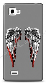 Dafoni LG Optimus 4X HD Bloody Angel Kılıf