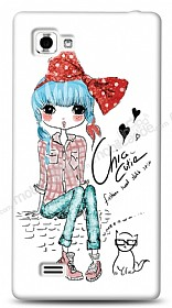 Dafoni LG Optimus 4X HD Cute Chic Kılıf