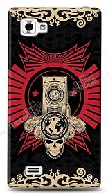LG Optimus 4X HD Skull Nation Kılıf