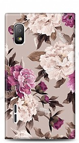 Dafoni LG Optimus L5 Old Roses K�l�f