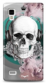 LG Optimus L9 P760 Lovely Skull Kılıf