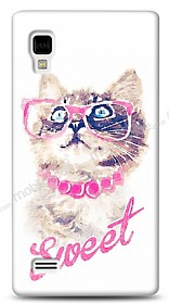 Dafoni LG Optimus L9 P760 Sweet Cat K�l�f