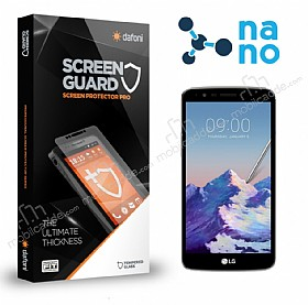 Dafoni LG Stylus 3 Nano Glass Premium Cam Ekran Koruyucu
