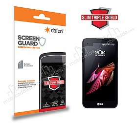 Dafoni LG X screen Slim Triple Shield Ekran Koruyucu