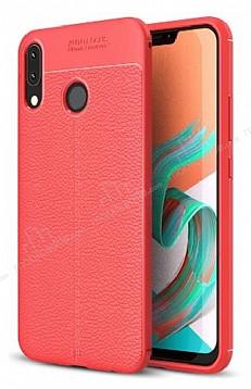 Dafoni Liquid Shield Premium Asus ZenFone 5 ZE620KL Kırmızı Silikon Kılıf