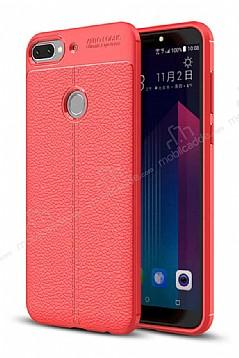 Dafoni Liquid Shield Premium HTC Desire 12 Plus Kırmızı Silikon Kılıf