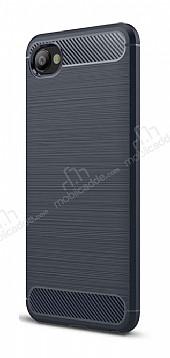 Eiroo Carbon Shield HTC Desire 12 Ultra Koruma Lacivert Kılıf