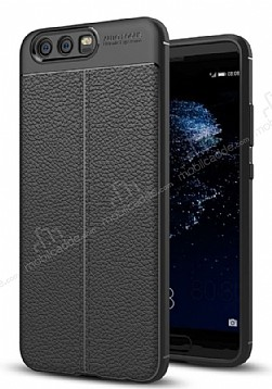 Dafoni Liquid Shield Premium Huawei P10 Siyah Silikon Kılıf