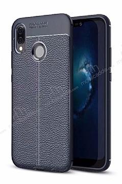 Dafoni Liquid Shield Premium Huawei P20 Lite Lacivert Silikon Kılıf
