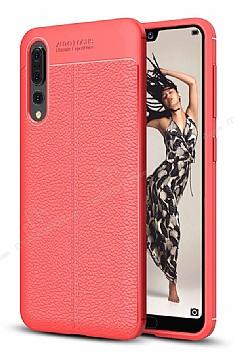 Dafoni Liquid Shield Premium Huawei P20 Kırmızı Silikon Kılıf