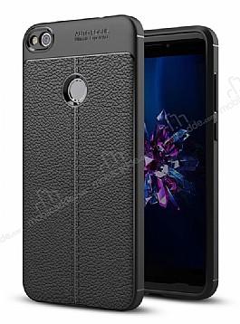 Dafoni Liquid Shield Premium Huawei P9 Lite 2017 Siyah Silikon Kılıf