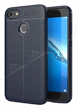 Dafoni Liquid Shield Premium Huawei P9 Lite Mini Lacivert Silikon Kılıf