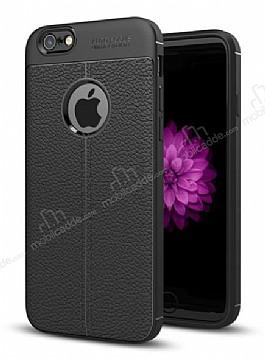 Dafoni Liquid Shield Premium iPhone 6 / 6S Siyah Silikon Kılıf