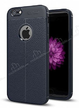 Dafoni Liquid Shield Premium iPhone 6 / 6S Lacivert Silikon Kılıf