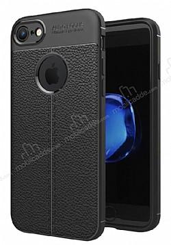 Dafoni Liquid Shield Premium iPhone 7 Siyah Silikon Kılıf
