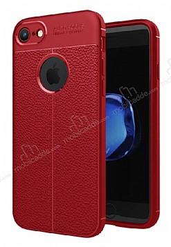 Dafoni Liquid Shield Premium iPhone 7 / 8 Kırmızı Silikon Kılıf