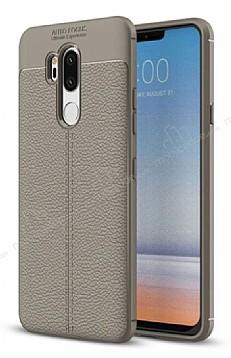 Dafoni Liquid Shield Premium LG G7 ThinQ Gri Silikon Kılıf