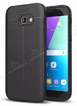 Dafoni Liquid Shield Premium Samsung Galaxy A3 2017 Siyah Silikon Kılıf