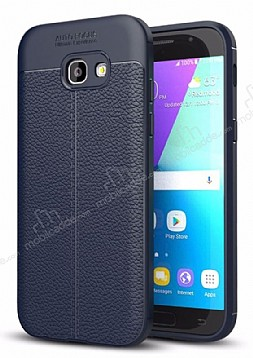 Dafoni Liquid Shield Premium Samsung Galaxy A5 2017 Lacivert Silikon Kılıf