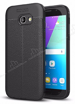 Dafoni Liquid Shield Premium Samsung Galaxy A7 2017 Siyah Silikon Kılıf