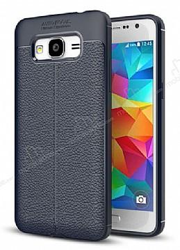 Dafoni Liquid Shield Premium Samsung Galaxy Grand Prime / Prime Plus Lacivert Silikon Kılıf