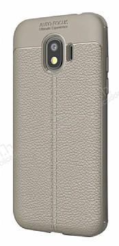 Dafoni Liquid Shield Premium Samsung Galaxy J2 Pro 2018 Gri Silikon Kılıf