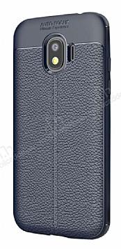 Dafoni Liquid Shield Premium Samsung Galaxy J2 Pro 2018 Lacivert Silikon Kılıf