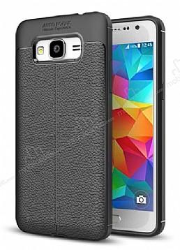 Dafoni Liquid Shield Premium Samsung Galaxy J2 Siyah Silikon Kılıf