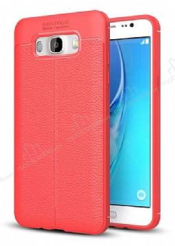 Dafoni Liquid Shield Premium Samsung Galaxy J7 2016 Kırmızı Silikon Kılıf