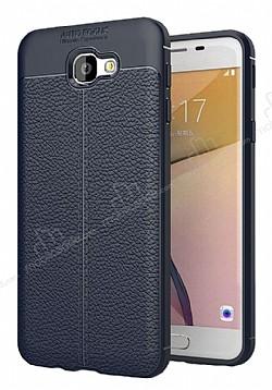 Dafoni Liquid Shield Premium Samsung Galaxy J7 Prime Lacivert Silikon Kılıf