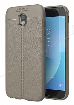 Dafoni Liquid Shield Premium Samsung Galaxy J7 Pro 2017 Gri Silikon Kılıf