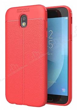 Dafoni Liquid Shield Premium Samsung Galaxy J7 Pro 2017 Kırmızı Silikon Kılıf
