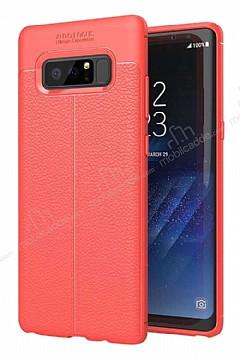 Dafoni Liquid Shield Premium Samsung Galaxy Note 8 Kırmızı Silikon Kılıf