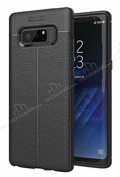 Dafoni Liquid Shield Premium Samsung Galaxy Note 8 Siyah Silikon Kılıf