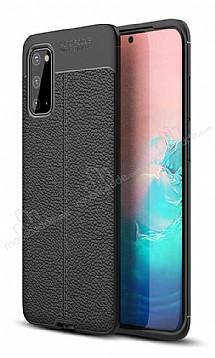 Dafoni Liquid Shield Premium Samsung Galaxy S20 Siyah Silikon Kılıf