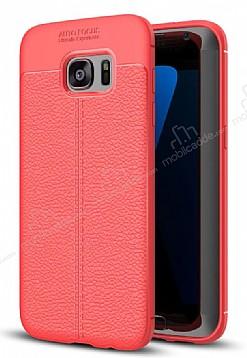 Dafoni Liquid Shield Premium Samsung Galaxy S7 Edge Kırmızı Silikon Kılıf