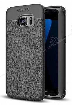 Dafoni Liquid Shield Premium Samsung Galaxy S7 Edge Siyah Silikon Kılıf