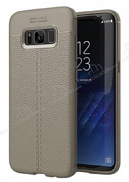 Dafoni Liquid Shield Premium Samsung Galaxy S8 Plus Gri Silikon Kılıf
