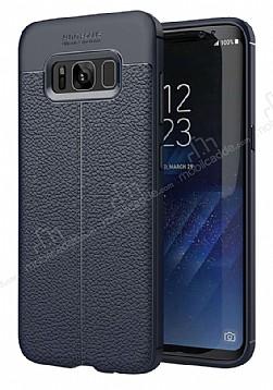 Dafoni Liquid Shield Premium Samsung Galaxy S8 Lacivert Silikon Kılıf