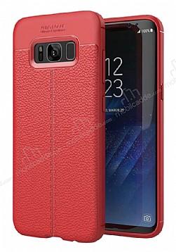 Dafoni Liquid Shield Premium Samsung Galaxy S8 Kırmızı Silikon Kılıf