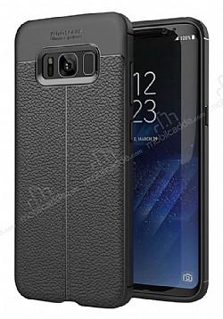 Dafoni Liquid Shield Premium Samsung Galaxy S8 Siyah Silikon Kılıf