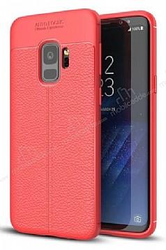 Dafoni Liquid Shield Premium Samsung Galaxy S9 Kırmızı Silikon Kılıf