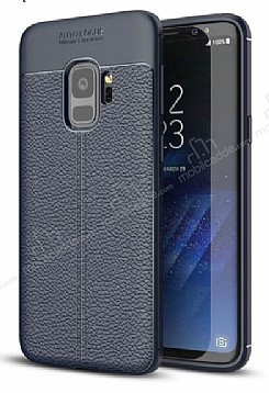 Dafoni Liquid Shield Premium Samsung Galaxy S9 Lacivert Silikon Kılıf